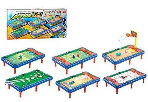 6 in 1 Action Sports Activity Center Toy For Kids