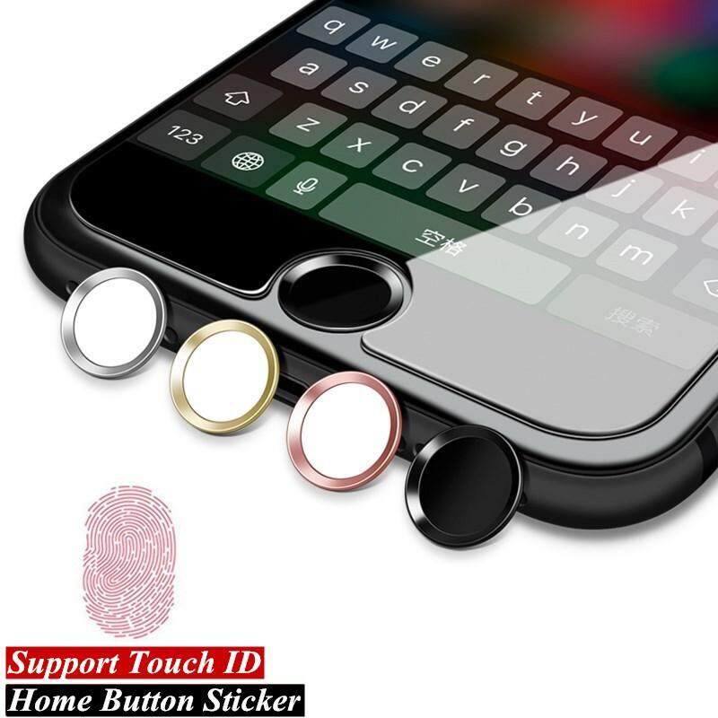 2 Pcs Universal Stiker Tombol Rumah untuk Apple iPhone 8 7 6 6 S PLUS 5 S SE Sidik Jari Touch ID Anti Keringat protector untuk iPad AC 2 3 4
