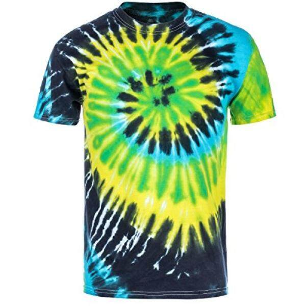 Magic River Handcrafted Tie Dye T Shirts - Island Breeze - Kids X-Large - intl