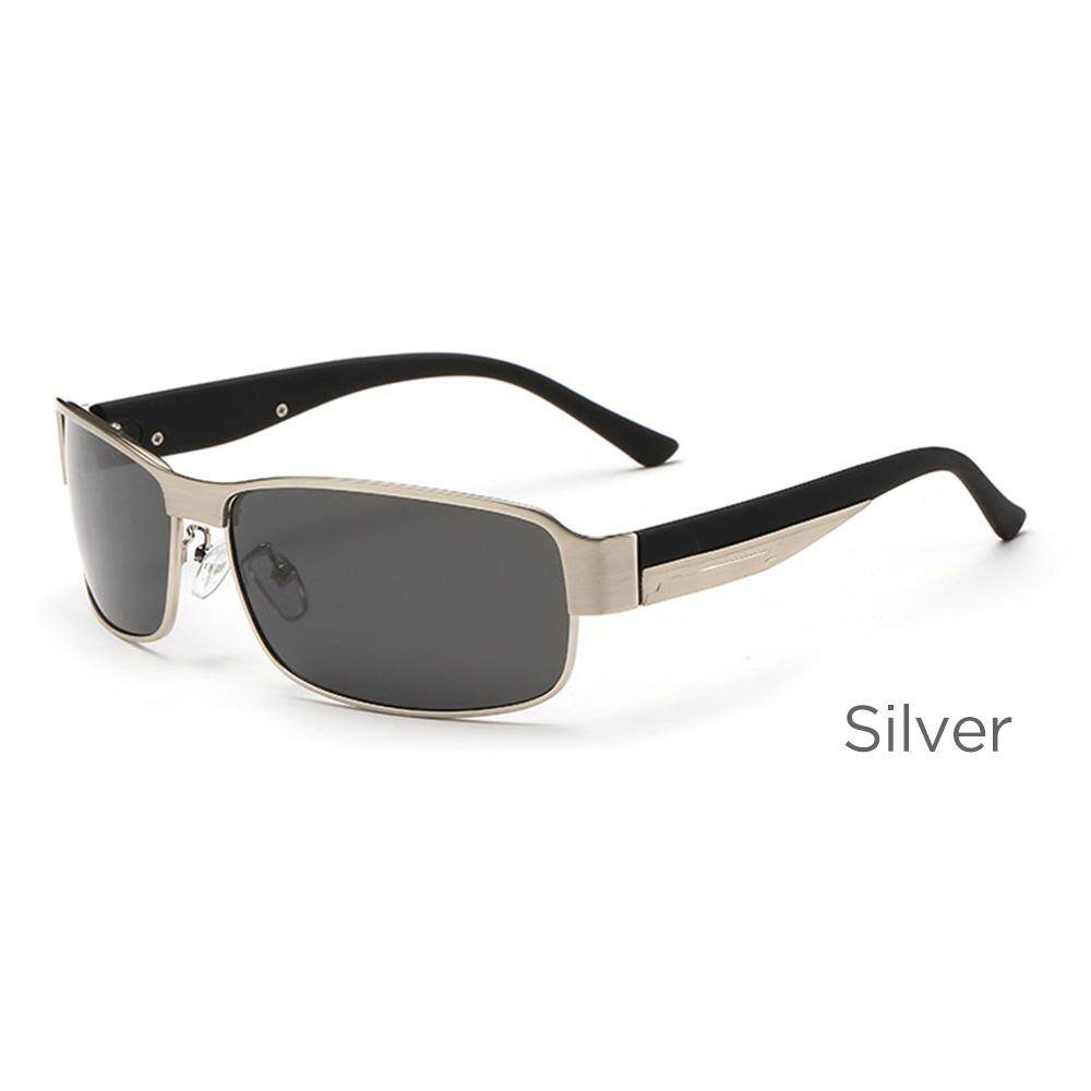 New Men's Polarized Sunglasses Rectangle Coating Driving Glasses Mirrored Sport Sun Glasses 5 Colors