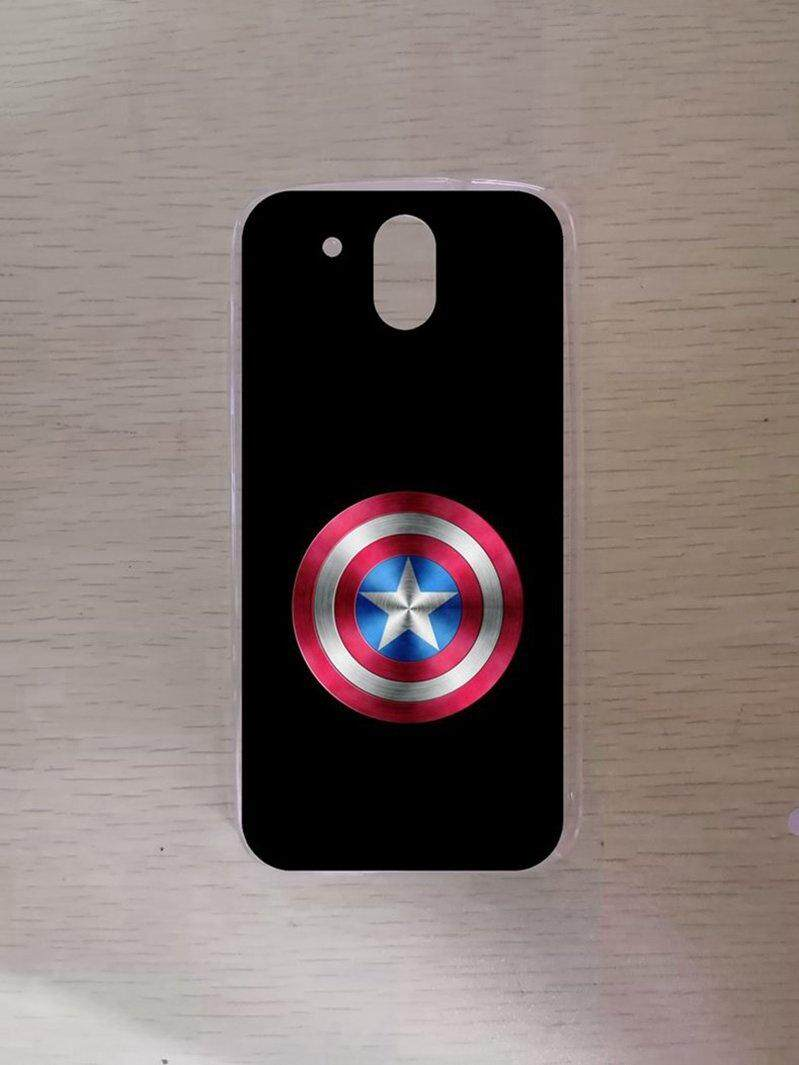 Avengers Shield Silicon High Quality TPU Soft Case Cover For HTC Desire 526 - intl