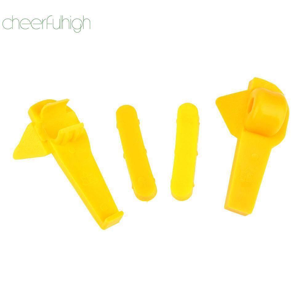 [cheerfulhigh] 4pcs Tyre Changer Part Nylon Mount Demount Duck Head Insert Rim Protectors By Cheerfulhigh.