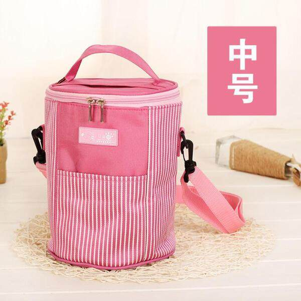 Lunch bag bag handbags for men and women students insulated bag cartoon lunch box canvas bag