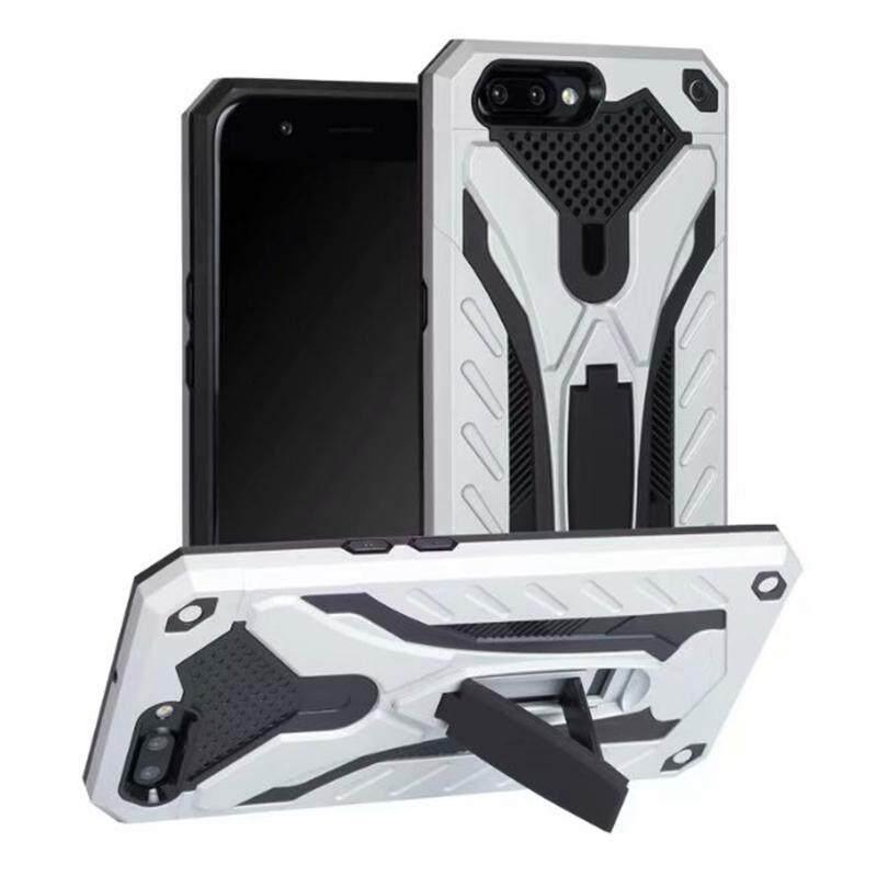 Desain Keren untuk Vivo Y83 Dampak Cover dengan Stand Pemegang Armor Hibrida PC + TPU 2 In 1 Perlindungan Casing Ponsel untuk Vivo Y83