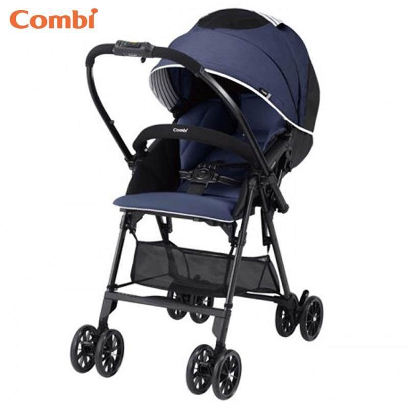Combi Mechacal Handy S Sea Navy Super Light Weight Comfortable Baby Stroller New