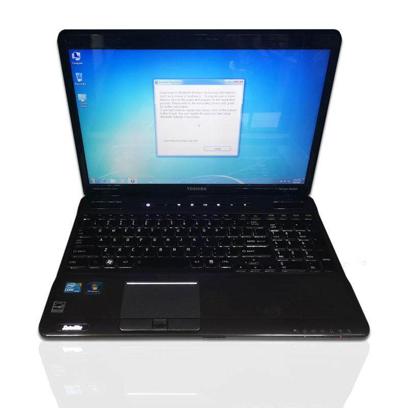 Refurbished Toshiba Satellite A665 Laptop Core i7 Q740 (GT330M) 1.7 Ghz 6GB 500GB W7 ( Limited Stcok ) Malaysia
