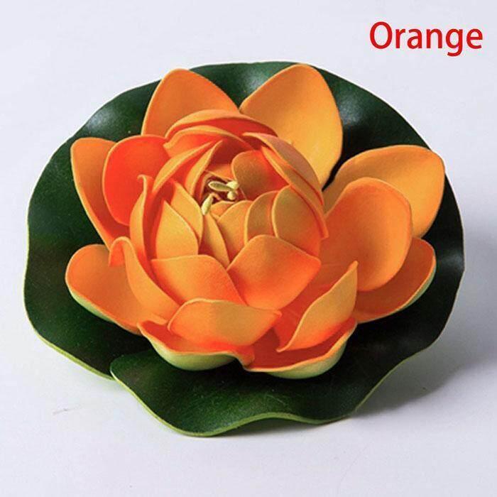 ... Toprank Plastik Bunga Teratai Artifisial Air Tanaman Lily Bunga  Mengambang Rumah Hiasan Kolam-Intl ... cd6dbab5ac