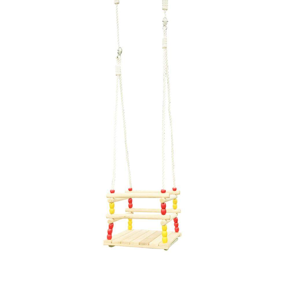 Outdoor Children Full Bucket Swing Play Kids High Back Eva Baby Swing Seat With 1.5m Coated Chain Playground For Home Garden Amusement Park