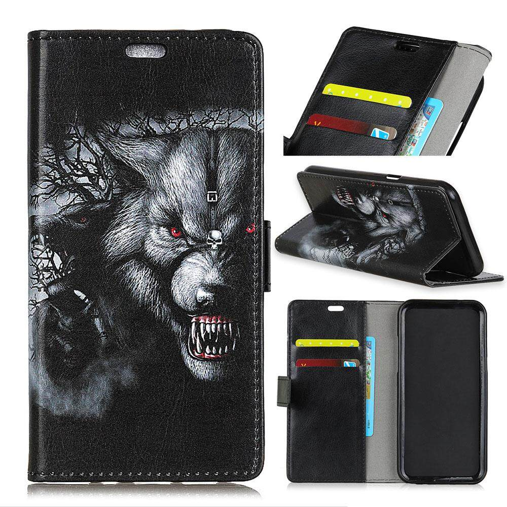 Case for Lenovo K8 Note PU Leather Wallet Case Magnetic Flip Stand Cover with Card Slots - intl