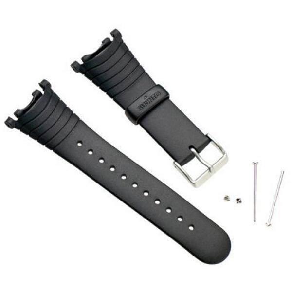 Suunto Wrist-Top Computer Watch Replacement Strap Kit (Vector, Altimax, Mariner, Regatta, D3; Black Elastomer) / From USA - intl