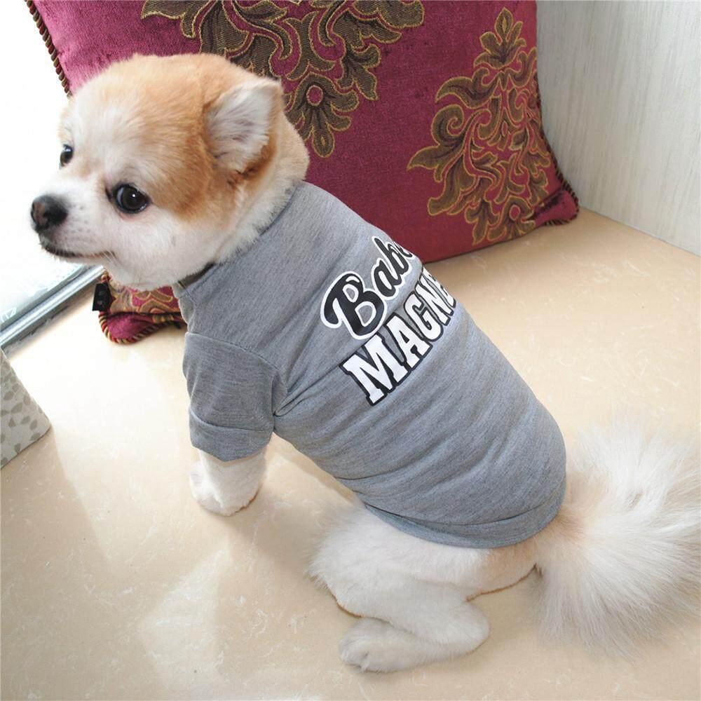 Cocol Max Anak Anjing Peliharaan Kemeja Musim Panas Anjing Kecil Kucing Pakaian Hewan Peliharaan Rompi Kaos