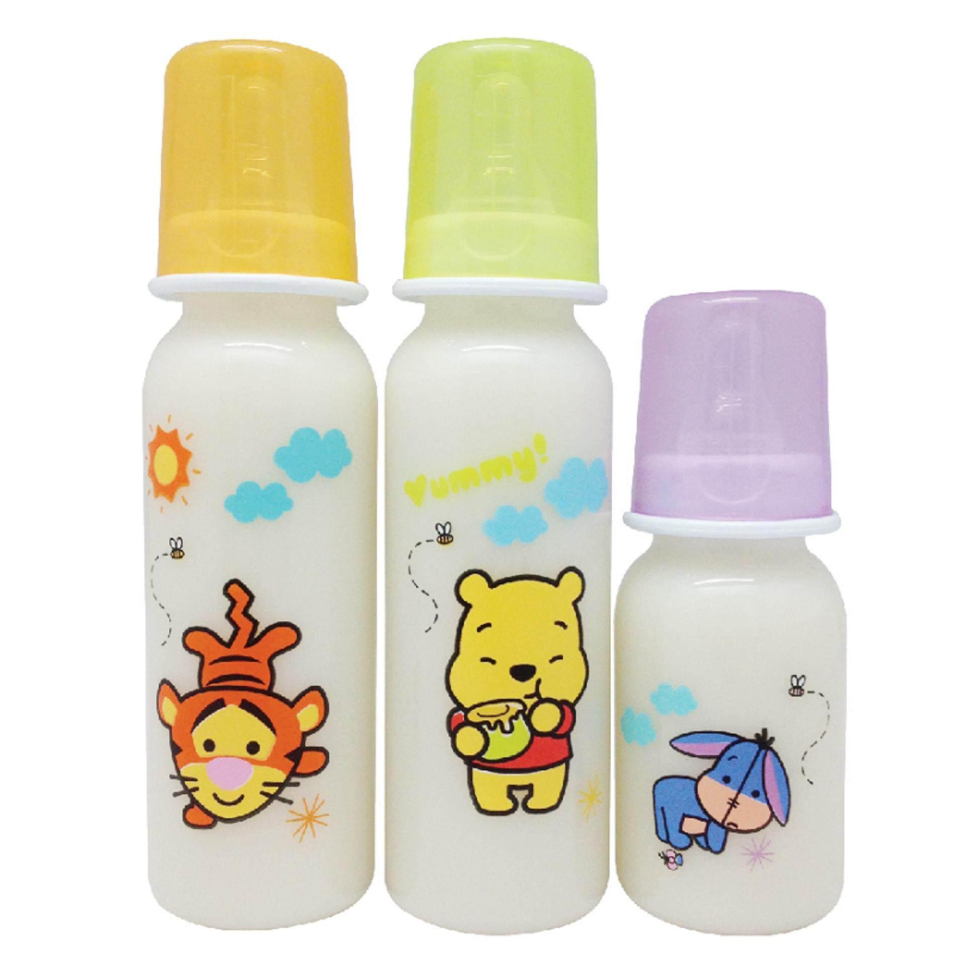 a671b0a7859a Disney Baby 4OZ + 8OZ + 8OZ Round Bottle Set - Winnie The Pooh