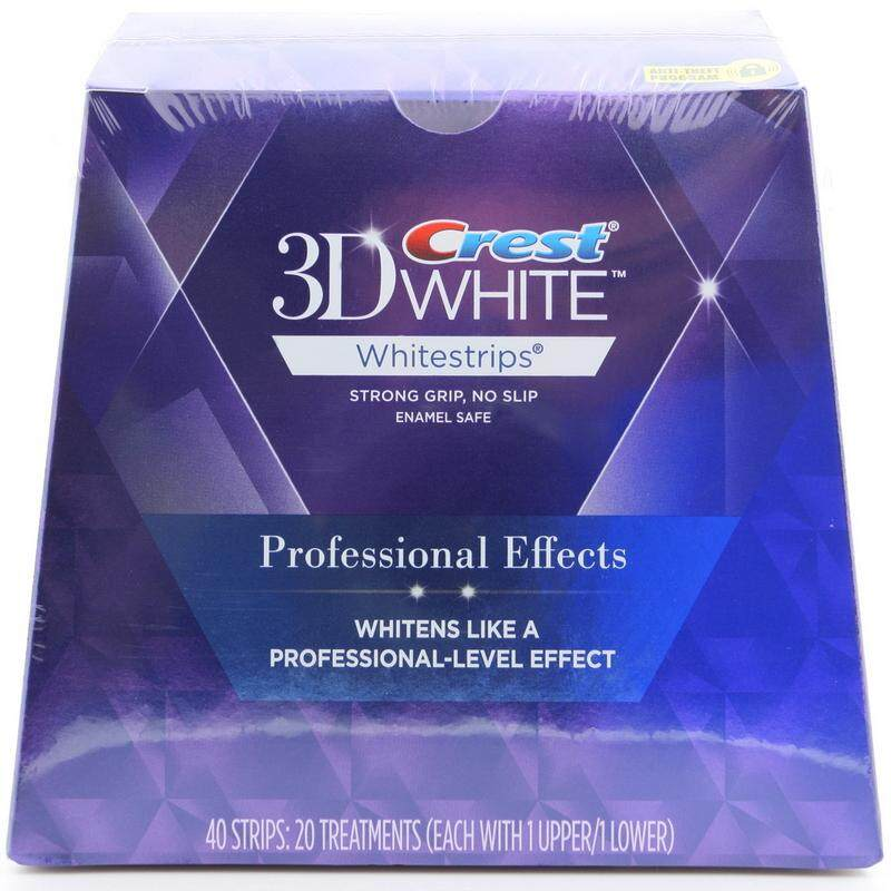 Crest 3D White Whitestrips Professional Effects - Teeth Whitening Kit 20 Treatments (Packaging May Vary)
