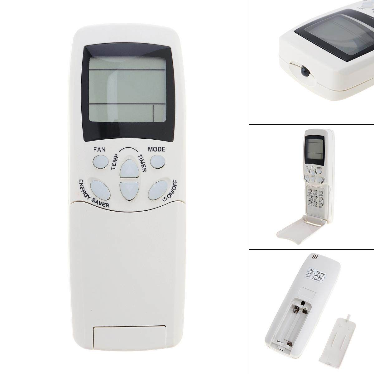 English Air Conditioner Remote Control with HD Screen Support 2 AAA for Carrier Air Conditioner VIKAS