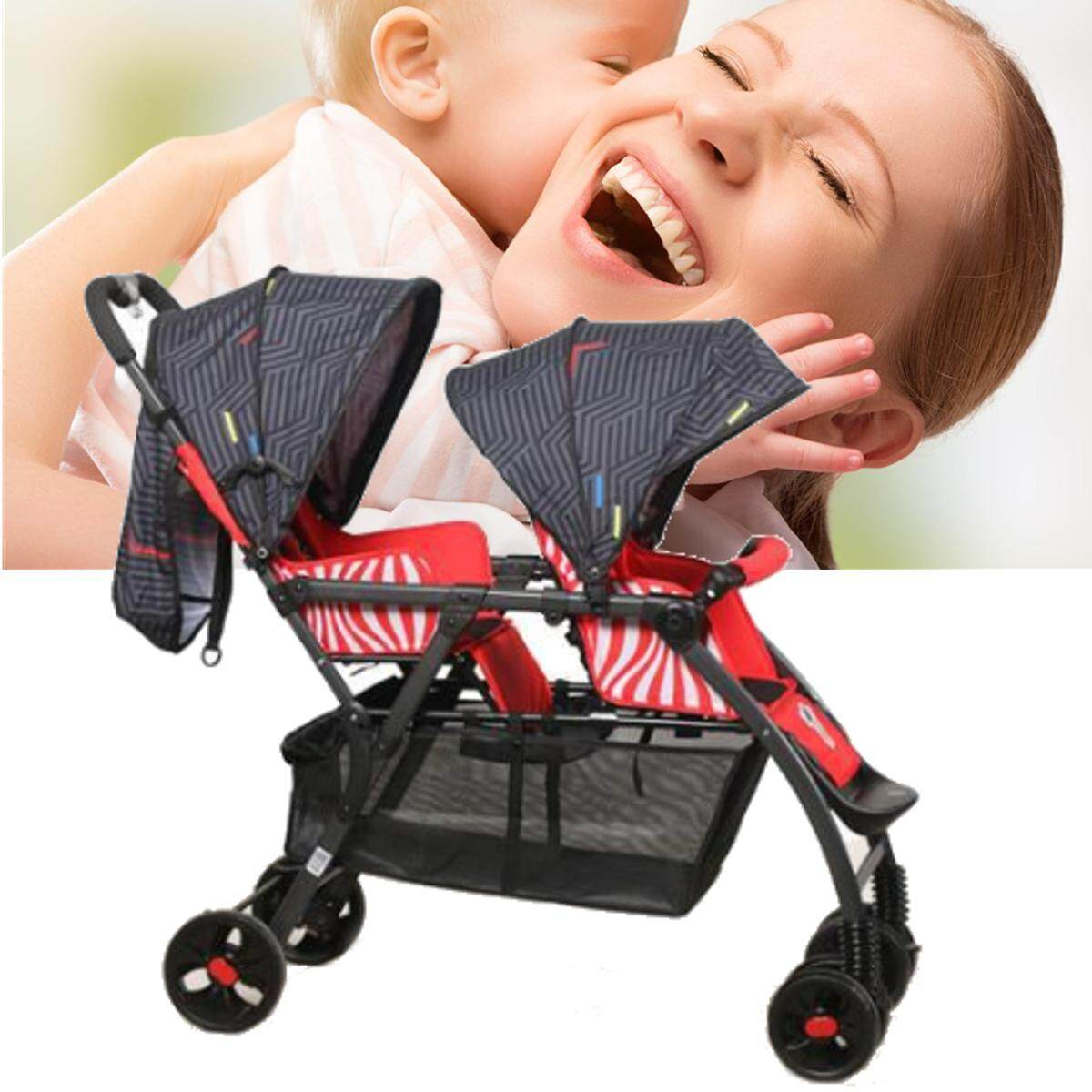 New Cosatto Shuffle Tandem Stroller Double Pushchair Buggy Hipstar By Glimmer.