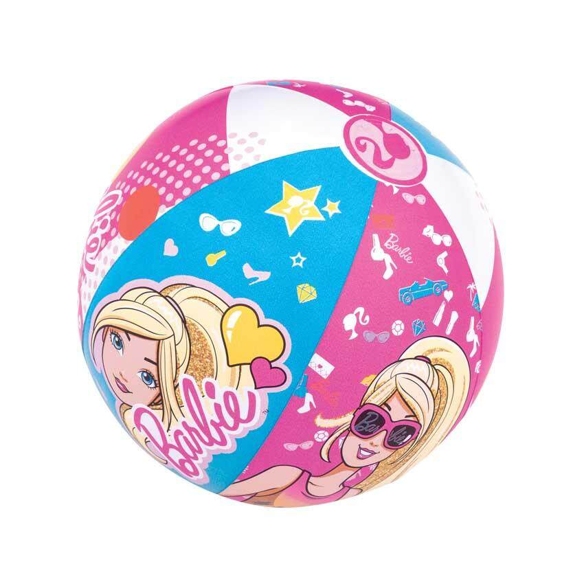 "Bestway 93201 Barbie Beach Ball 20"" 51cm Model Safety Kids Play Swimming Toys"