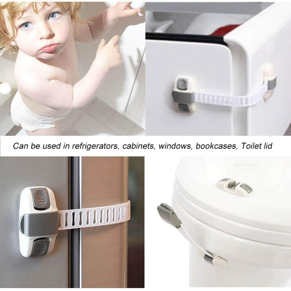 Multi Function Adjustable Safety Lock Keep Baby Safe for Drawer Cabinet Fridge Door