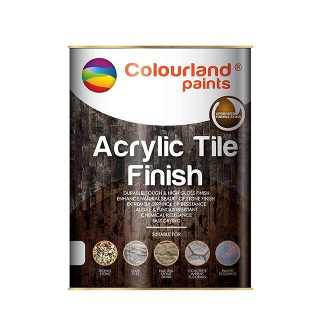 COLOURLAND ACRYLIC TILE FINISH PAINT (1 LIT)