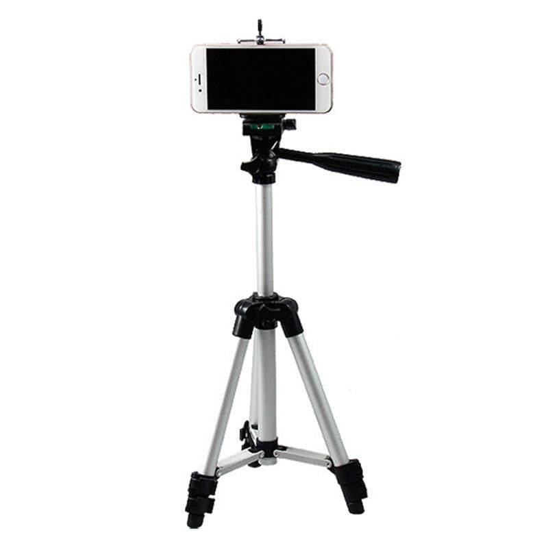 vigo Aluminum Alloy Tripod Mount 3 Section Adjustable Tripod Holder Outdoor Shooting for Mobile Camera