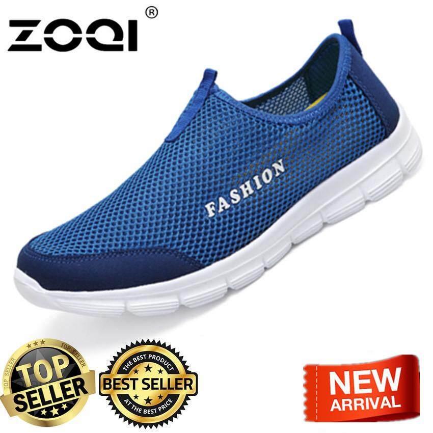 Loafer Shoes ZOQI Light Mesh Fashion Sneaker Sport Shoes