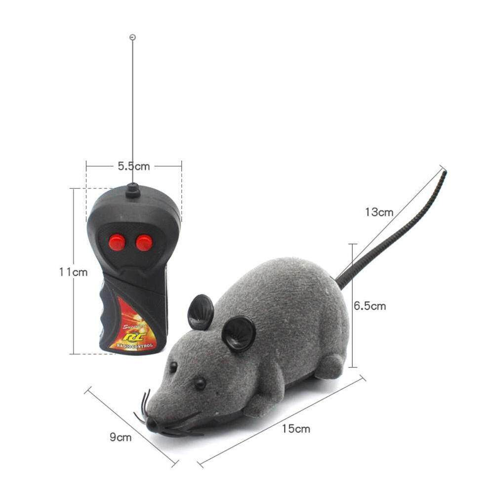Ytri Pengendali Jarak Jauh Tikus RC Mouse Nirkabel untuk Hewan Peliharaan Anjing Kucing Hadiah Mainan Terbaru