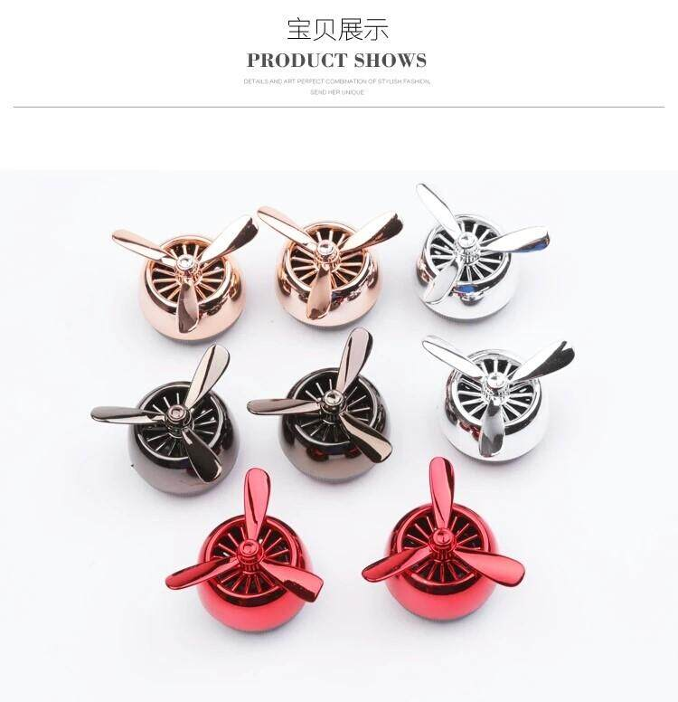 Features Air Force No 3 Diamond Car Air Conditioning Outlet Mini Fan