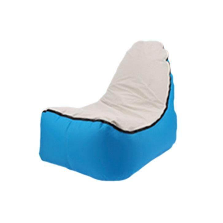 Enjoy cloud filled air sofa # Blue