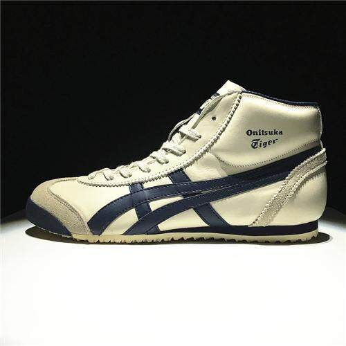 Running Shoes Pop New Style Casual Sports Shoes Sneakers Hard-Wearing OCTIPOD Official Good Quality FlyteFoam SpEVA Asics-Onitsuka-Tiger Mexico 66 High Top Women's EU:36 Beige Blue - intl