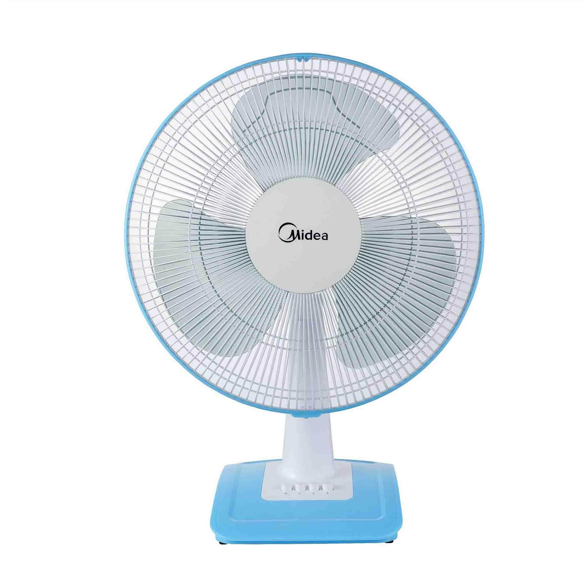Latest Branded Fans With Best Online Price In Malaysia Mini Portable Fan Powerbank Kipas Angin Midea Mf 16ft17nb Table 16 Blue White