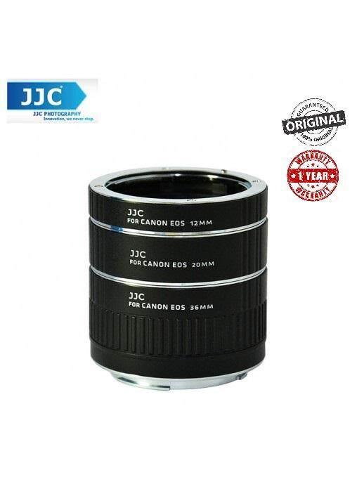 JJC AET-CS 12/20/36mm Auto Focus AF Macro Extension Tube Set for Canon EOS Rebel Camera
