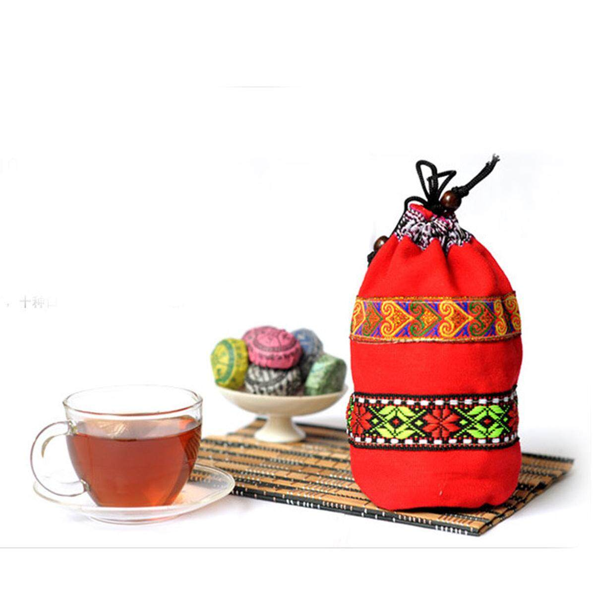 Premium Lao Cang Puer Tea Cake 20 Flavours 40 Pc 80 Pc Pu-Erh Tea Cakes By Paidbang.