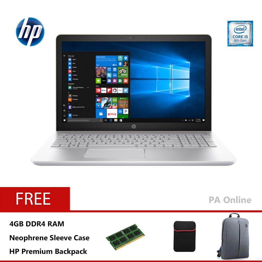 HP Pavilion 15-cs0033TX (8GB Ram)-Intel Core i5-8250U/8GB DDR4/1TB HDD/15.6FHD LED/NVD MX150 2GB DDR5/2 years Warranty/Windows 10 Home Malaysia