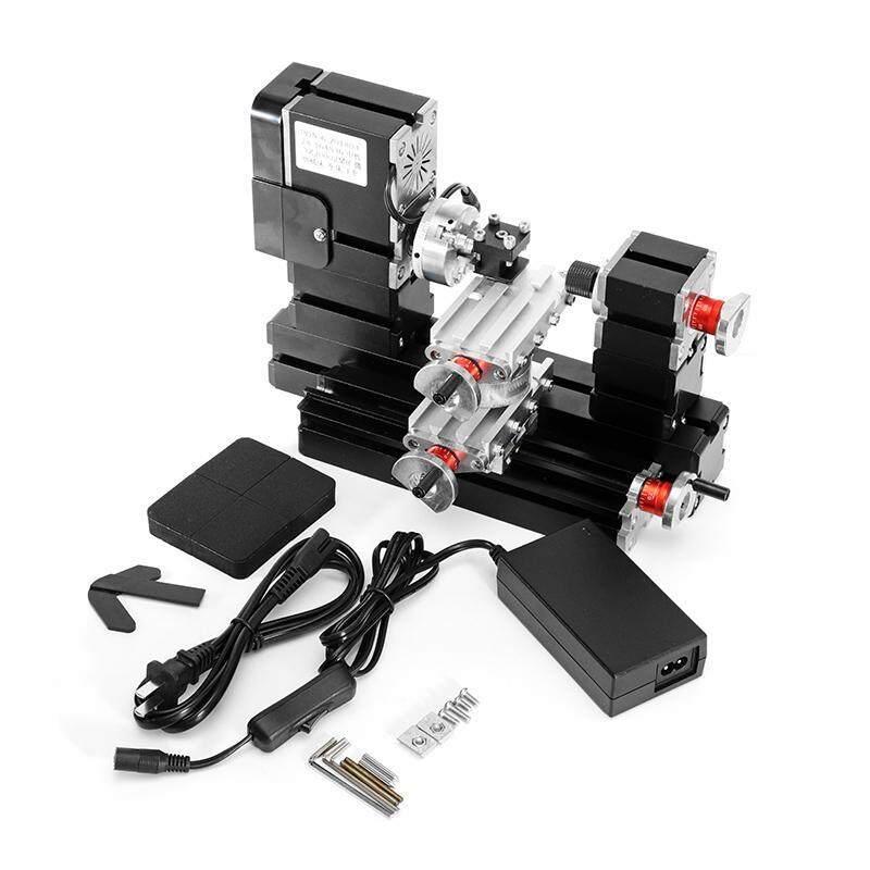 TZ20002MR DIY BigPower Mini Metal Rotating Lathe 60W 12000r/min Motor