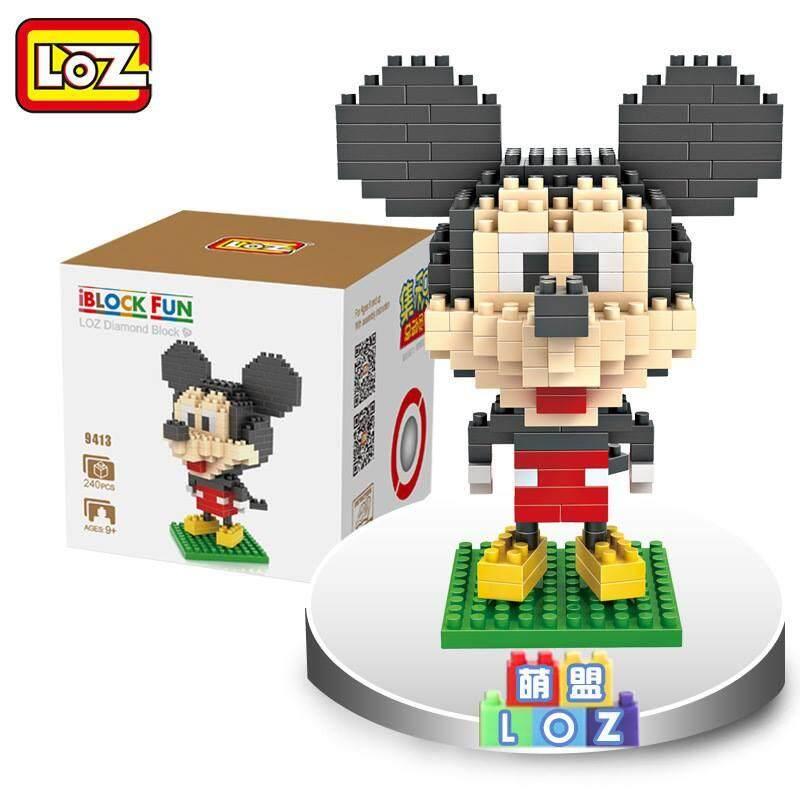 LOZ DIY Mickey Mouse Nanoblock Puzzle