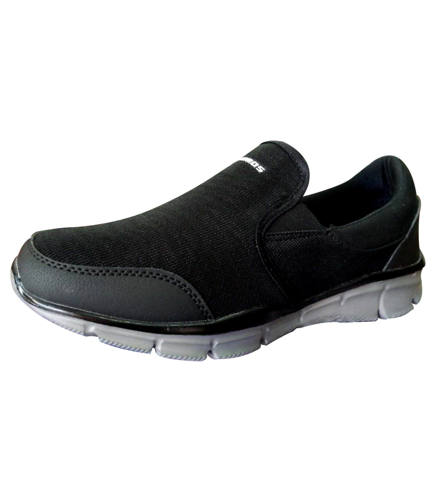 Ambros Glider Men's Casual Walking Shoes - Black
