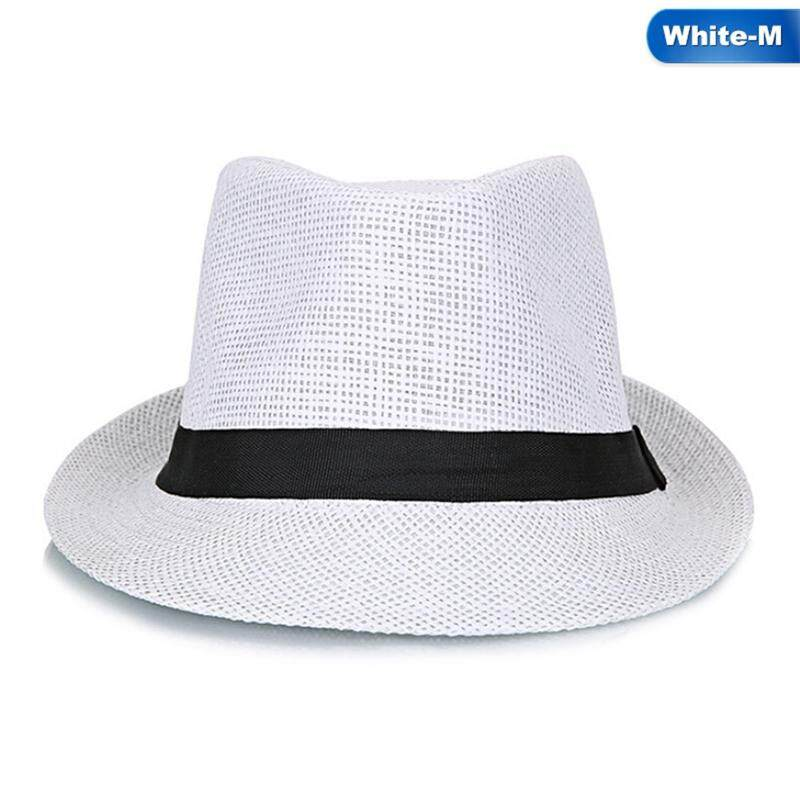 Linfang Men Temperament Casual Pure Color Flax Breathable Boutique Fashion Bowler - intl