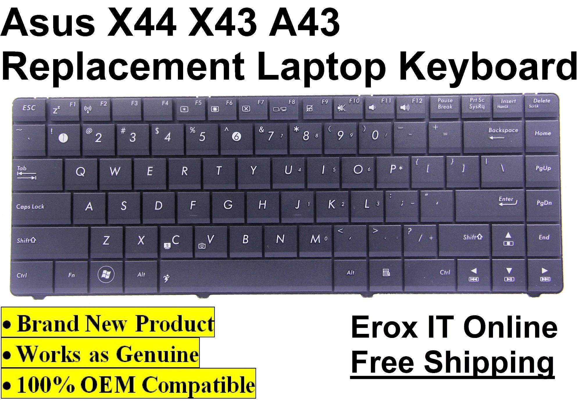 Replacement Laptop Keyboard for Asus X42J /Asus X44H Series Keyboard Malaysia