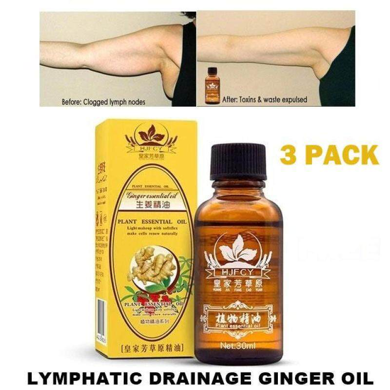 Buy Special Sale ! 3 Pack Lymphatic Drainage Ginger Oil Natural Plant Therapy Singapore