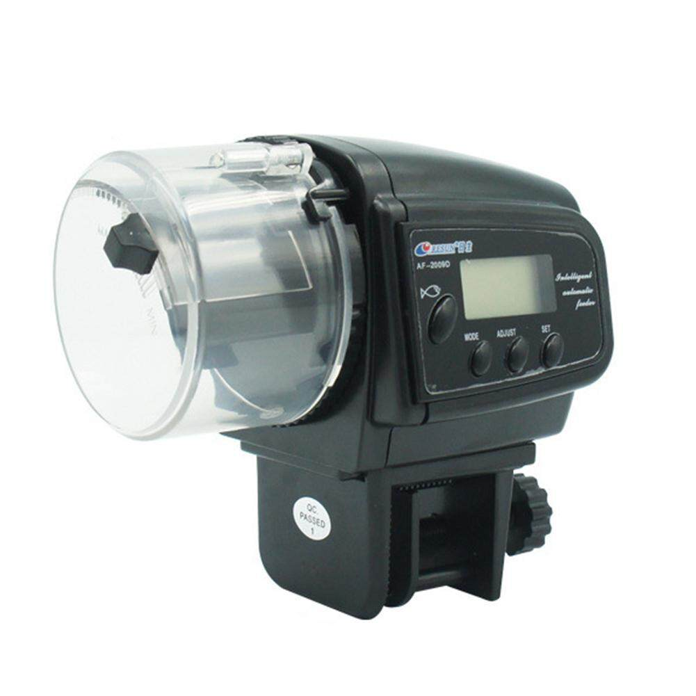 Buybowie Automatic Digital Fish Feeder Timer Feeding, Auto Fish Food Feeder With Lcd Display For Aquarium By Buybowie.