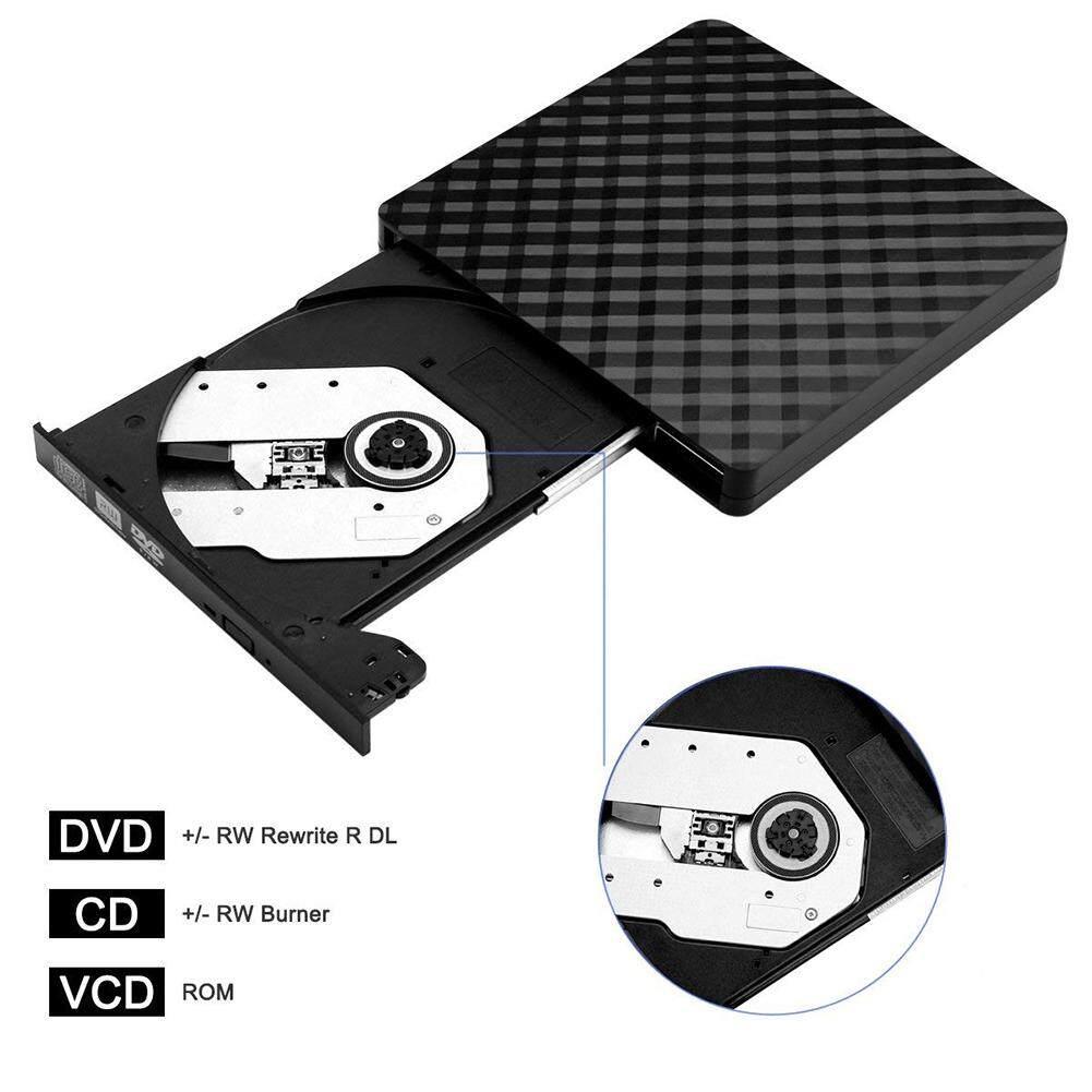 Ini Adalah Drive DVD Data Kecepatan Tinggi Pemindahan USB 3.0 Eksternal CD Pembaca DVD Penulis Pemain untuk Desktop Laptop Macbook