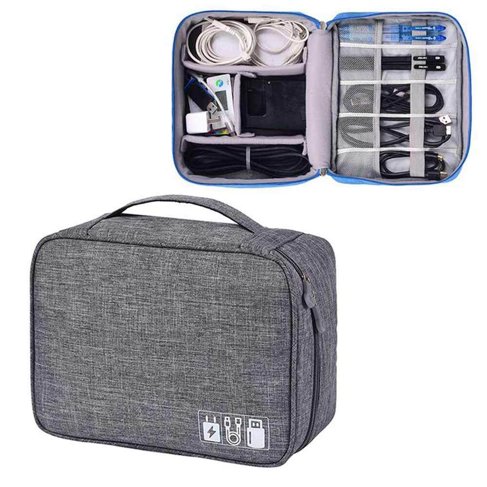 99830033e6c BuyBowie Electronic Organizer, Travel Gadget Bag Double Layer Waterproof  Electronic Accessories Case for 9.7 Inch