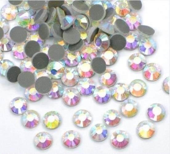 2500 PCS Massal 6 Mm 30ss Kristal AB Longgar Permata Imitasi Lem Kuat Kualitas Terbaik dari Threadnanny-Intl