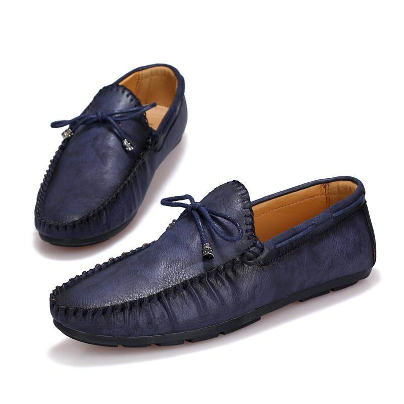 1d09dbf4594 Men Slip-Ons   Loafers Fashion Driving Shoes Boat Shoes (Blue)