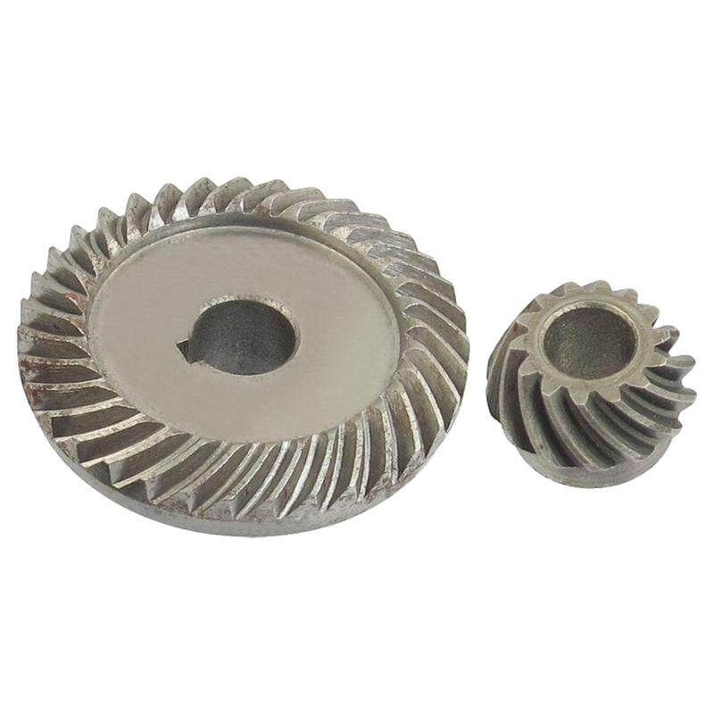 Angle Grinder Spare Part Tapered Bevel Gear Set for LG Silver Metal