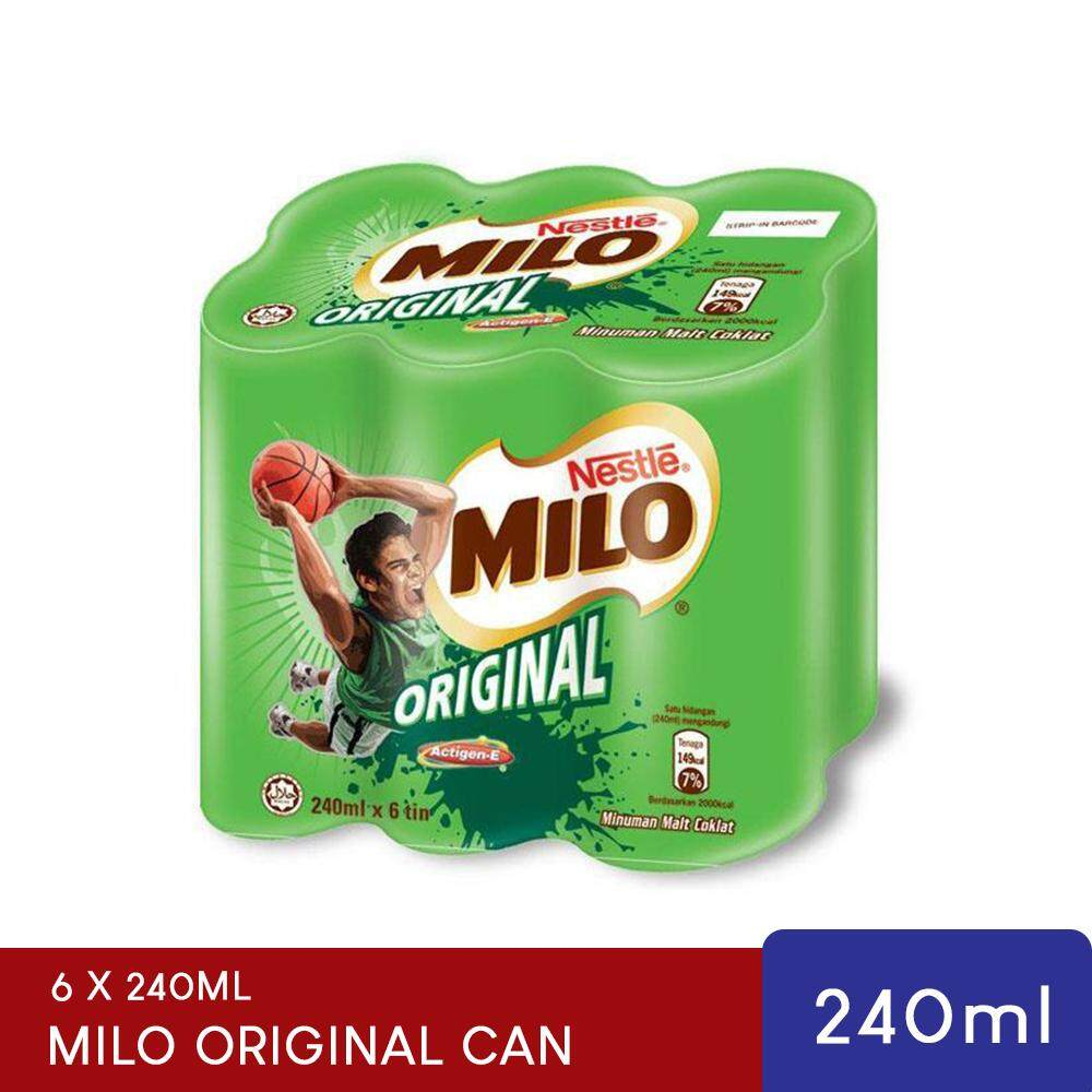 Malaysia Online Grocery Selling Milo Horlicks Active Go 1kg 1 Kg Original Rtd Can 6 X 240ml