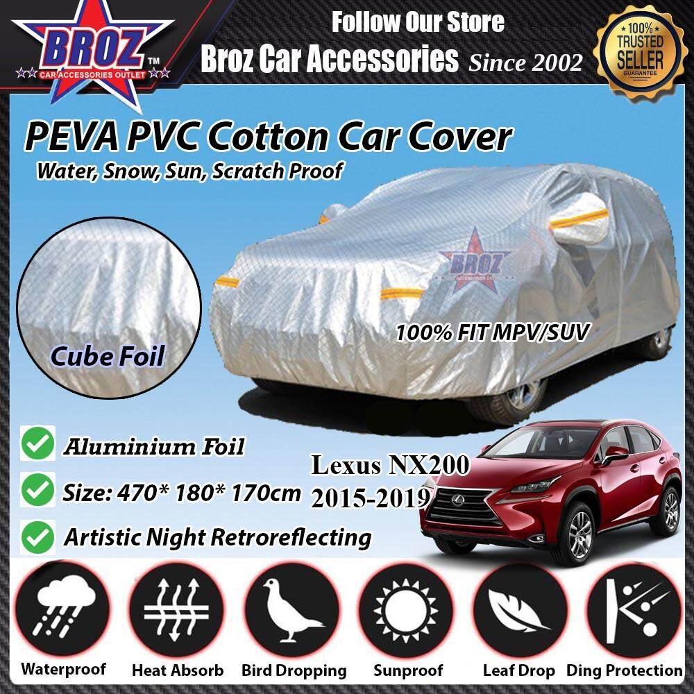 Lexus NX200 Car Body Cover PEVA PVC Cotton Aluminium Foil Double Layers - MPV