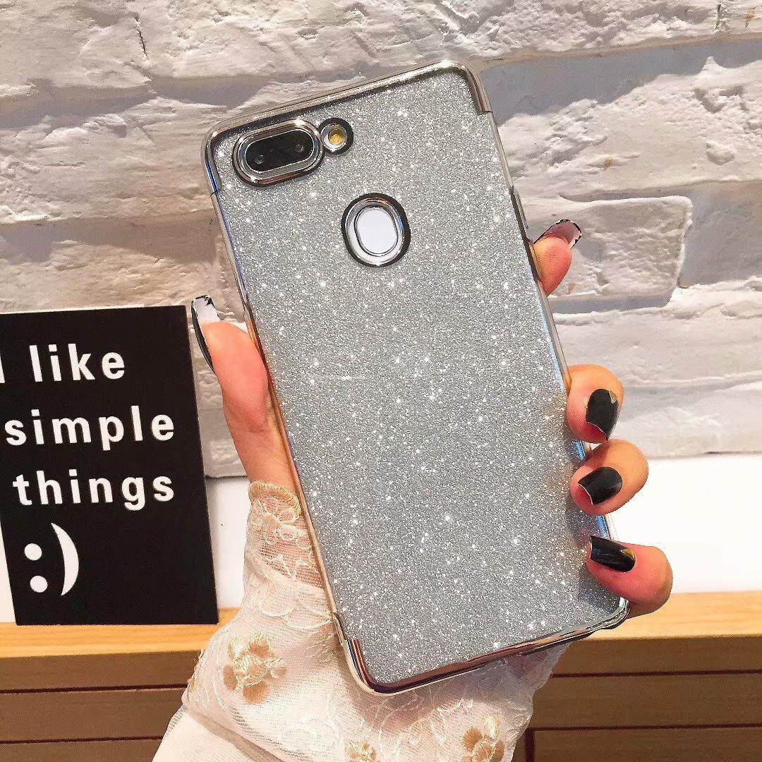 Glitter Bling  Shiny Sequins Phone Case For OPPO A73/F5 Cases Glossy Soft TPU Cover Oppo  A73/F5