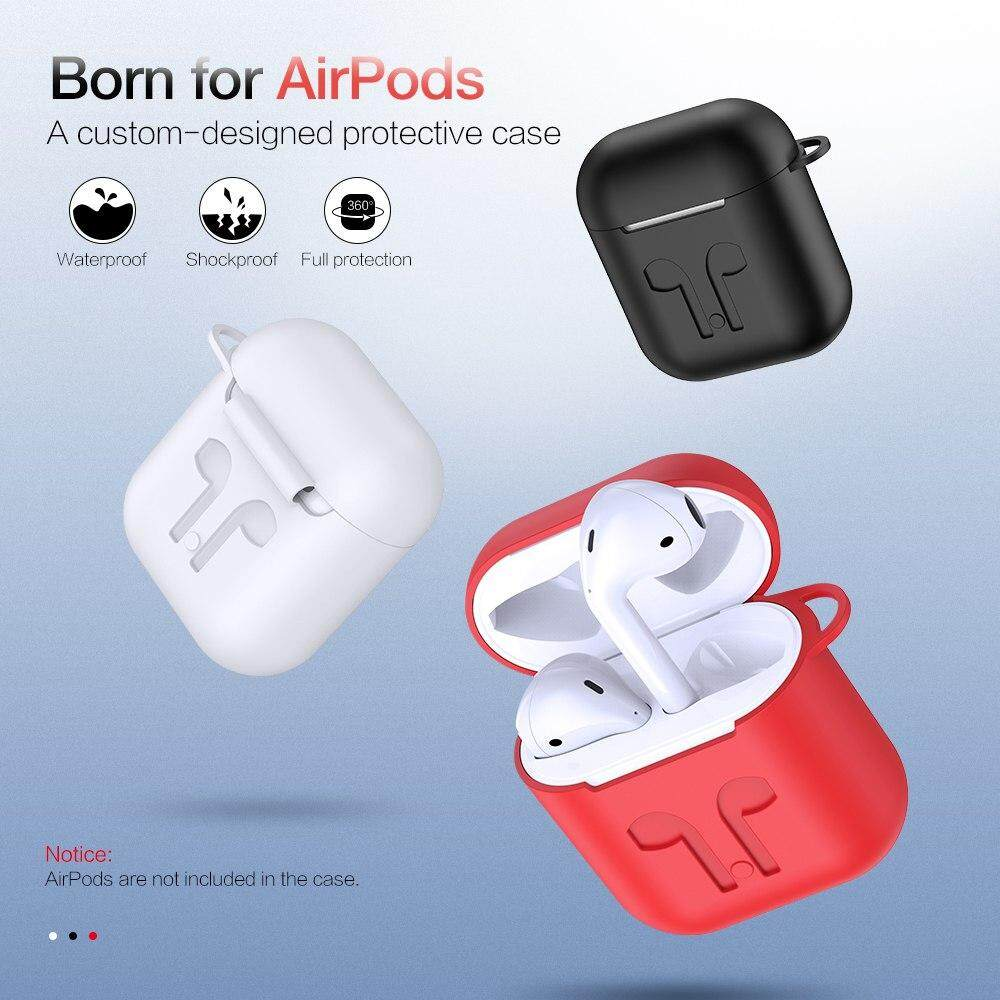 Detail Gambar RAXFLY Earphone Case For Apple Airpods Soft Silicone Headphone Case Earphone Accessories Protective Cover For iPhone Earphones Terbaru