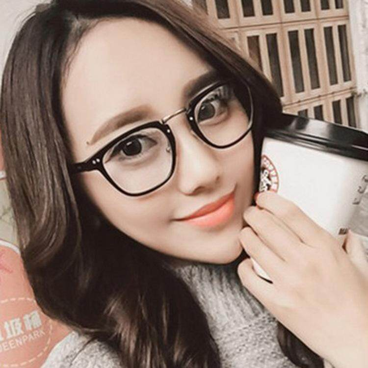 6340f25ade Star section frame mirror trend retro glasses frame Korean version can be  equipped with myopic glasses