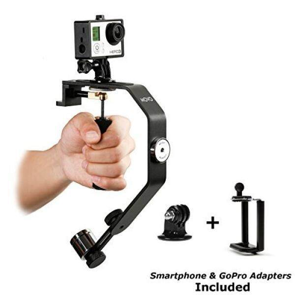 Movo Foto VS01-SP Video Sistem Stabilizer dengan Counterweight untuk GoPro Pahlawan HERO2, HERO3, HERO3 +, HERO4 dan Apple Iphone 4 4 S 5 5 S, 6, Samsung Galaxy S3, s4, S5, S6 Android Smartphone-Intl